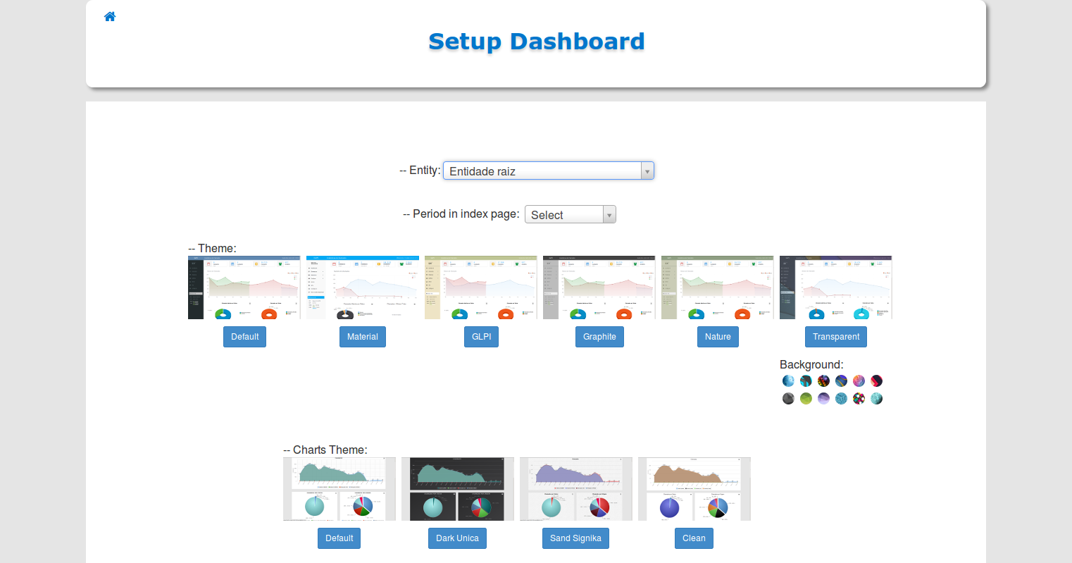Dashboard Setup